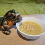 Zupa krem ze szparagów i cukinii