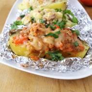 Faszerowane ziemniaki z grilla / Stuffed Grilled Potatoes