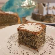 Siała baba mak - ucierane ciasto z makiem niemielonym