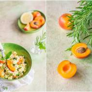 Tabbouleh z cukinią i morelami / Tabbouleh with zucchini and apricots