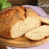 Chleb z garnka z owsianymi otrębami