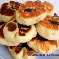 Peremyachi - pulchne  klapy tatarskie z mięsem