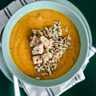 Zupa krem z pietruszki i batatów