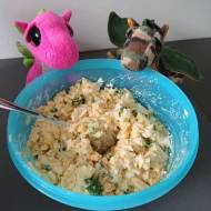Pasta jajeczna ze szczypiorkiem