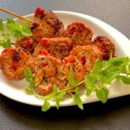 Grillowane ślimaczki z polędwiczki wieprzowej
