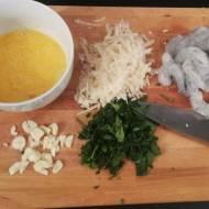 Makaron z krewetkami w kremowym sosie