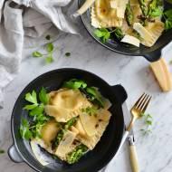 Ravioli ze szparagami, mascarpone i gorgonzolą!