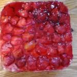 Galaretkowiec z truskawkami