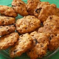 Ciasteczka z płatkami kukurydzianymi z czekoladą