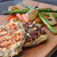 kotlety z mielonego mięsa z indyka i warzywami