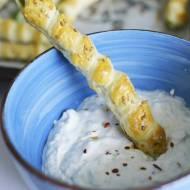Paluchy ze szparagami - czyli zielone szparagi w cieście francuskim do grilla lub do obiadu