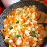 Oprószana kalarepa z marchewką