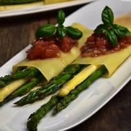 Cannelloni ze szparagami