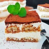 Błyskawiczne tiramisu bez jajek – ciasto bez pieczenia