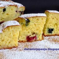 Wakacyjne ciasto z owocami