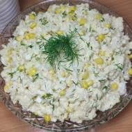 Sałatka z kalafiorem
