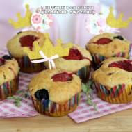 Muffinki bez cukru (nadziane owocami)