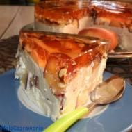 Sernik brzoskwiniowy na zimno