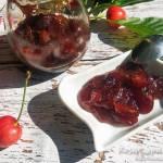 Konfitura z czereśni z nutą imbiru i cynamonu