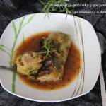 Wegańskie gołąbki z soczewicą i ryżem