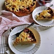 Szybkie wegańskie ciasto z owocami