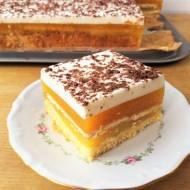 Ciasto Ibiza z brzoskwiniami, budyniem i galaretką / 'Ibiza' Cake