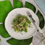 Ryż z cukinią i świeżymi ziołami