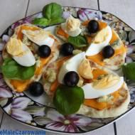 Jogurtowe placuszki z serem Mimolette