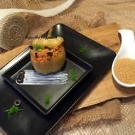 Papryka faszerowana warzywami i kaszą kuskus