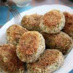 Kotlety gryczane z brokułem