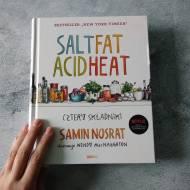 Cudowna książka Salt Fat Acid Heat i pesto z bazylii