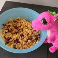 Awaryjna sałatka makaronowa na grilla lub imprezę