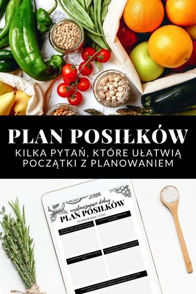 Wystarczająco Dobry Plan Posiłków, czyli jak zacząć planowanie?