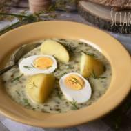 Ściabudowa (zupa szczawiowa) – kuchnia podkarpacka