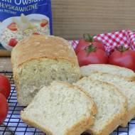 Chleb z płatkami owsianymi, sezamem i słonecznikiem