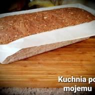Chlebek Miłości. Pełnoziarnisty z czarnuszką wg Mamusi