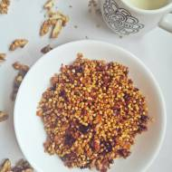 Domowa granola orzechowa