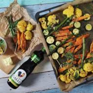 Oliwny warzywniak  - pieczone warzywa kolorowe