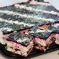 Sasanka - ciasto bez pieczenia