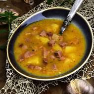 Zupa z czerwonej soczewicy na gęsto