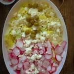 Szybka letnia sałatka z rzodkiewką