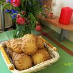 Ciasteczka orzechowo - owsiane