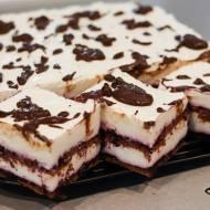Wezuwiusz - ciasto bez pieczenia