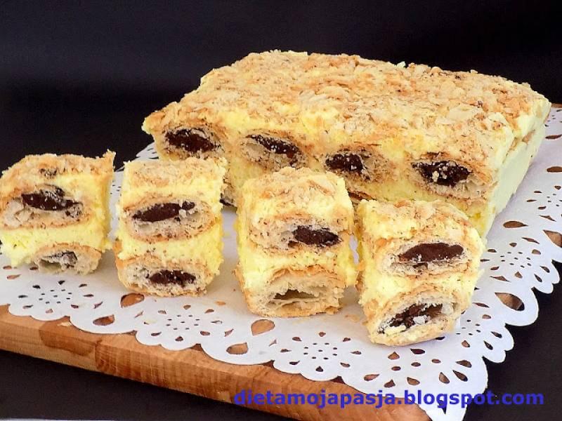 Ciasto Szybki Francuz - bez pieczenia