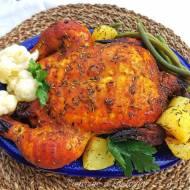 Kurczak pieczony w marynacie miodowej