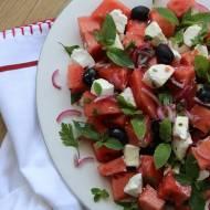 Salatka z arbuza - idealna na lato