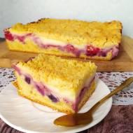 Budyniowe ciasto owocowe