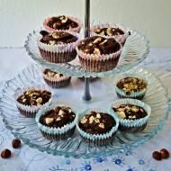 Zdrowe muffinki z fasoli bez mąki i cukru