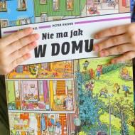 Nie ma jak w domu Peter Knorr & Doro Gobel  – recenzja książeczki obrazkowej