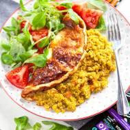 Omlet na szybki obiad to świetny pomysł! Quinotto Intenson świetnie sprawdza się jako farsz